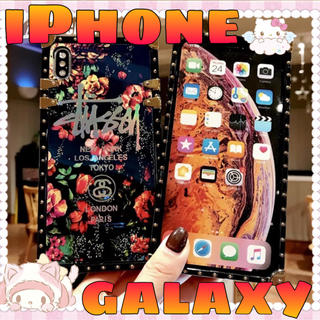iPhone GALAXY ケース✰︎