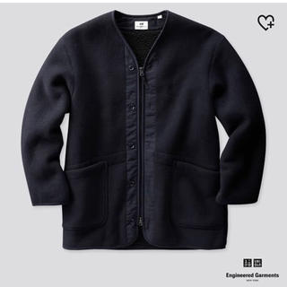 UNIQLO - UNIQLO Engineered Garments フリースノーカラーコート