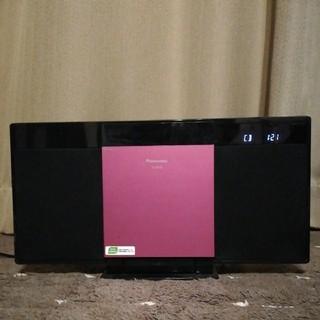 パナソニック(Panasonic)のPanasonic コンパクトステレオシステム SC-HC28 CD iPod(その他)