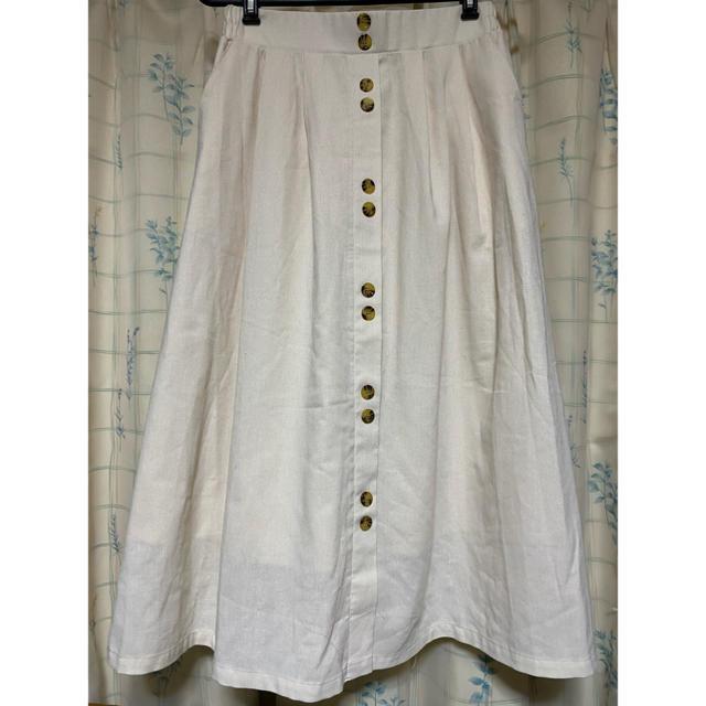 しまむら(シマムラ)のボタンマキシスカート レディースのスカート(ロングスカート)の商品写真