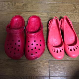 クロックス(crocs)のクロックス crocs サンダル 2点 (サンダル)