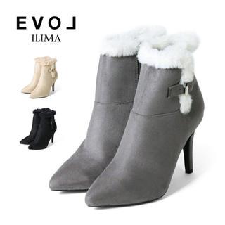 EVOL - EVOL ILIMA スエードショートブーツ