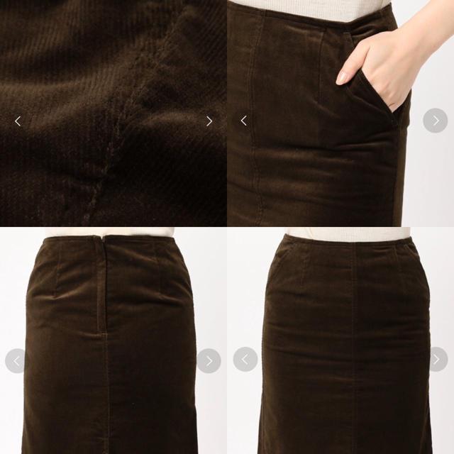 JOURNAL STANDARD(ジャーナルスタンダード)のコーディロイ  スカート レディースのスカート(ひざ丈スカート)の商品写真