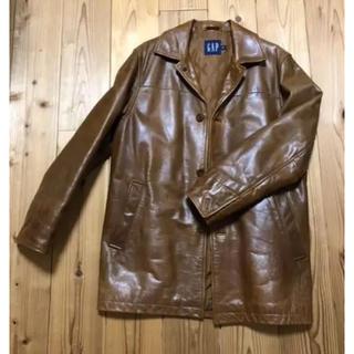 ギャップ(GAP)のOLD GAP 90s leather jacket レザージャケット(レザージャケット)