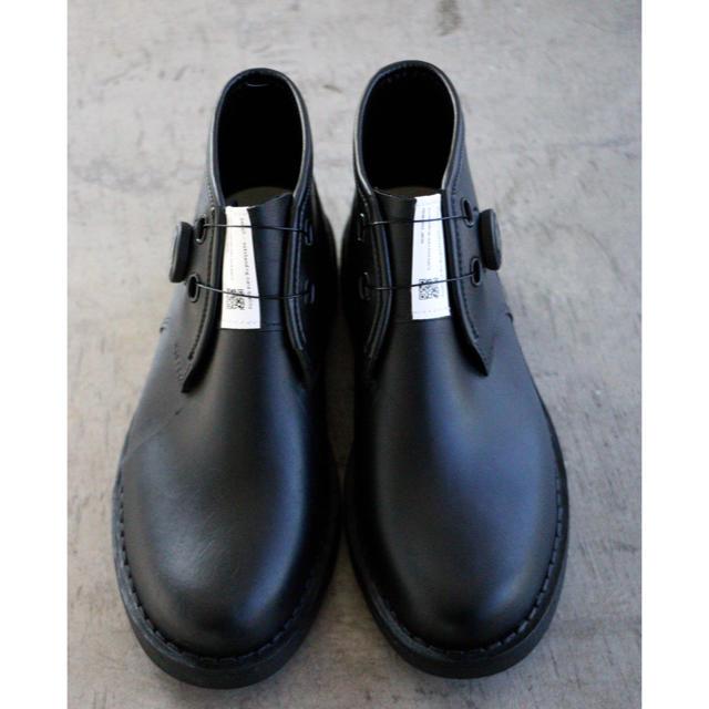 Bench(ベンチ)のBENCH bench ベンチ ダイヤルチャッカブーツ ブラック 新品未使用品 メンズの靴/シューズ(ブーツ)の商品写真