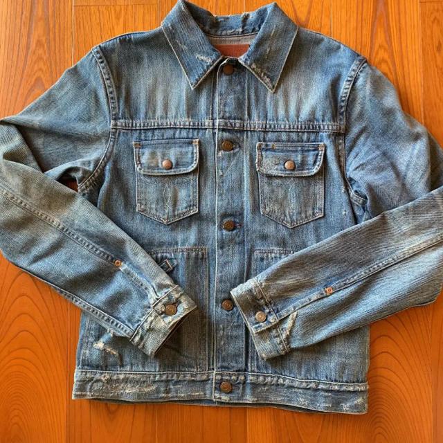 ZARA(ザラ)の【ZARA】デニムジャケット Gジャン メンズのジャケット/アウター(Gジャン/デニムジャケット)の商品写真