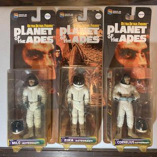 メディコムトイ(MEDICOM TOY)の猿の惑星 PLANET OF THE APE フィギュア3体(SF/ファンタジー/ホラー)