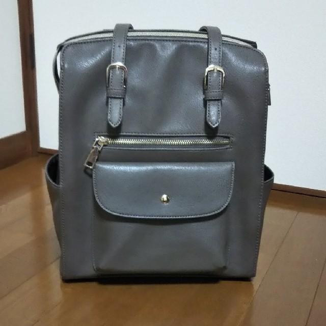しまむら(シマムラ)のしまむら×プチプラのあや 2wayリュック レディースのバッグ(リュック/バックパック)の商品写真