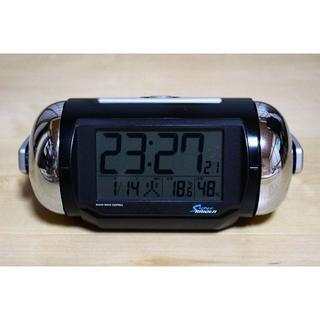 セイコー(SEIKO)の【送料無料】SEIKO セイコー ピクシス 電波目覚まし時計 NR523K(置時計)