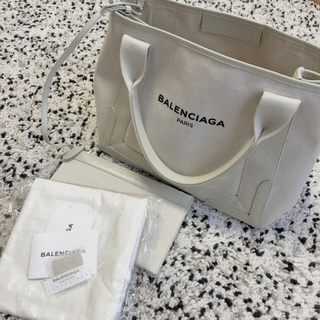 バレンシアガバッグ(BALENCIAGA BAG)のバレンシアガ 本物 トート 希少 ホワイト(トートバッグ)