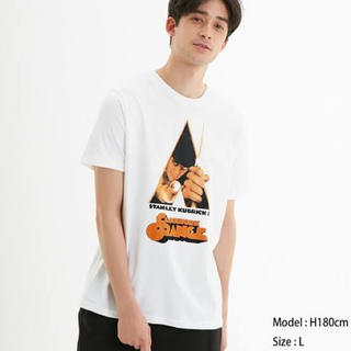 GU - 時計じかけのオレンジ tシャツ ジーユー