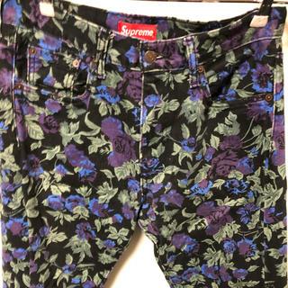 Supreme - Supreme/Levi's Roses 505 Jeans シュプリーム
