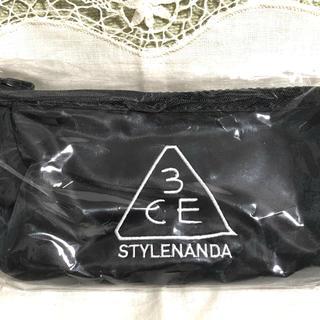 スタイルナンダ(STYLENANDA)の3CE POUCH_MINI BLACK(ポーチ)