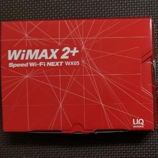 エヌイーシー(NEC)のSpeed Wi-Fi NEXT WX05(ソニックレッド)+クレードル(PC周辺機器)
