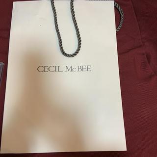 セシルマクビー(CECIL McBEE)のセシルマクビー ショッパー(ショップ袋)