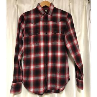 Saint Laurent - SAINT LAURENT PARIS チェックシャツ