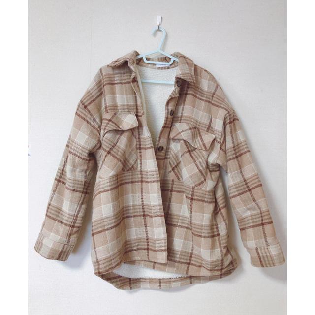 しまむら(シマムラ)のしまむら×vivi 裏ボアチェック CPOジャケット レディースのジャケット/アウター(その他)の商品写真