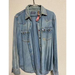 ブルーブルー(BLUE BLUE)のblue blueデニムウェスタンシャツ(シャツ/ブラウス(長袖/七分))