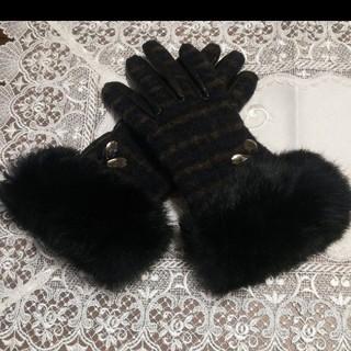 アンテプリマ(ANTEPRIMA)のアンテプリマ 手袋 ツイード レザー(手袋)