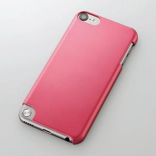 エレコム(ELECOM)の5th iPod touch用シェルカバー ピンク(ポータブルプレーヤー)