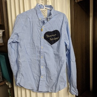 GO TO HOLLYWOOD - gotohollywood 03サイズ ハートワッペンシャツ
