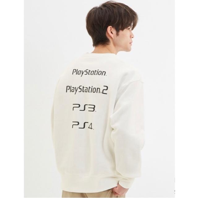 GU(ジーユー)のGU プレイステーション PlayStation コラボスウェット メンズのトップス(スウェット)の商品写真