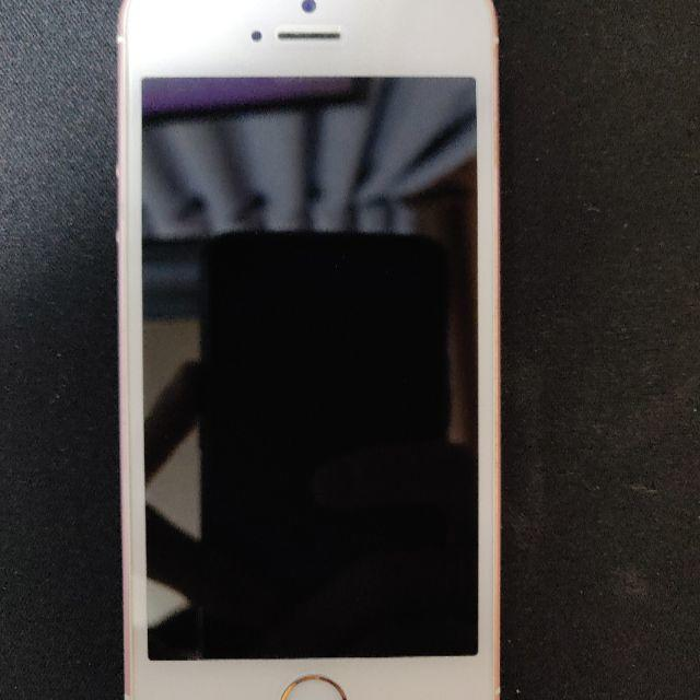 Apple(アップル)のiPhone SE Rose Gold 32 GB Softbank スマホ/家電/カメラのスマートフォン/携帯電話(スマートフォン本体)の商品写真