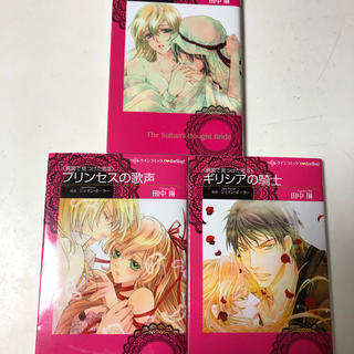 異国で見つけた恋 全3巻セット 田中琳 ハーレクインコミックス