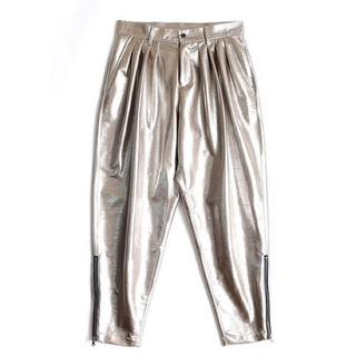 SHAREEF - 18AW SHAREEF ENAMEL TAPERED PANTS