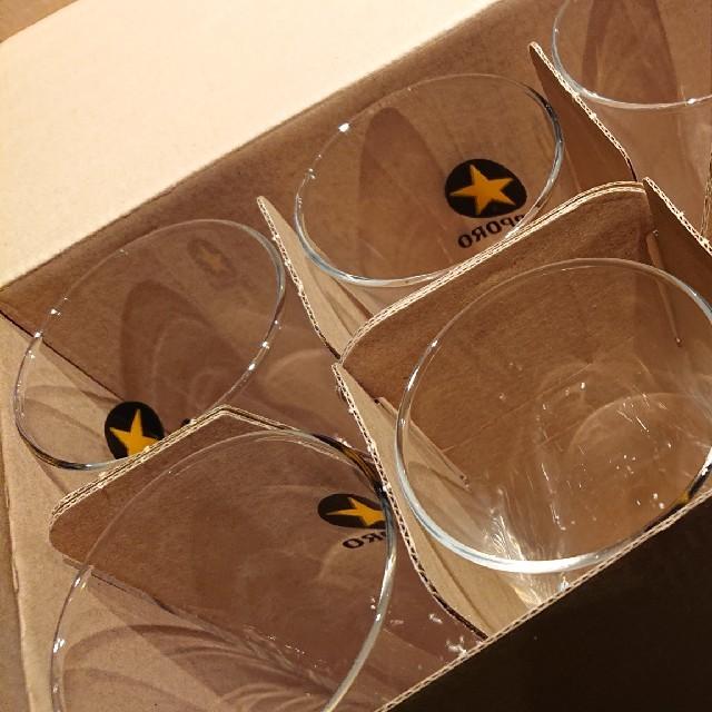 サッポロビール足つきグラス インテリア/住まい/日用品のキッチン/食器(アルコールグッズ)の商品写真