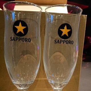 サッポロビール足つきグラス