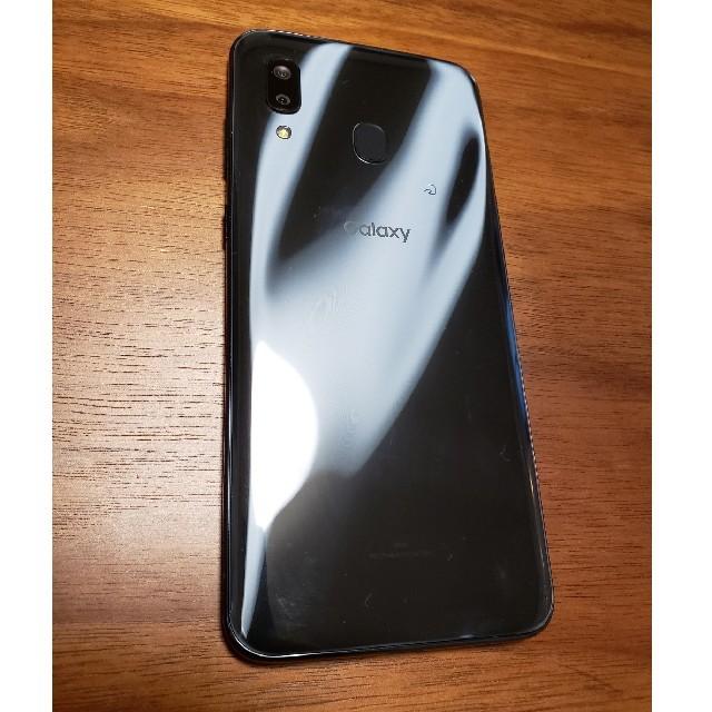 SAMSUNG(サムスン)の1/18までGalaxy A30 Black 64 GB au SIMロック解除 スマホ/家電/カメラのスマートフォン/携帯電話(スマートフォン本体)の商品写真