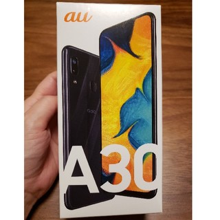 SAMSUNG - 1/18までGalaxy A30 Black 64 GB au SIMロック解除