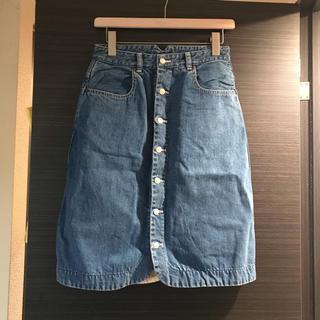 アーバンリサーチ(URBAN RESEARCH)のBIG TOP 膝丈デニムスカート(ひざ丈スカート)