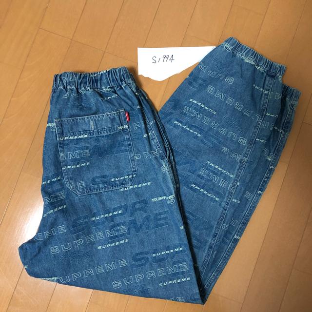 Supreme(シュプリーム)のDimensions Logo Denim Skate Pant S size メンズのパンツ(デニム/ジーンズ)の商品写真