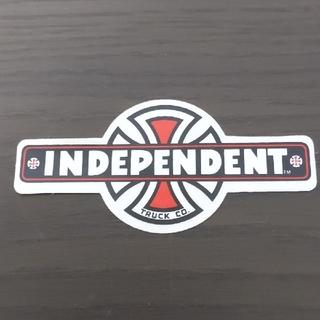 インディペンデント(INDEPENDENT)の「縦5.3cm横11.5cm」independent ステッカー(スケートボード)