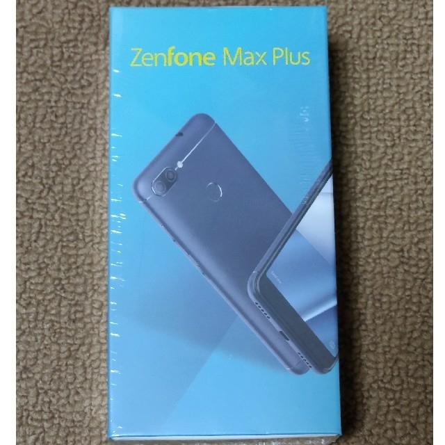 ASUS(エイスース)の【新品未開封】ASUS ZenFone Max Plus  ブラック スマホ/家電/カメラのスマートフォン/携帯電話(スマートフォン本体)の商品写真