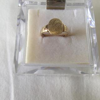アガット(agete)のアガット K10 ピンクゴールド リング(リング(指輪))