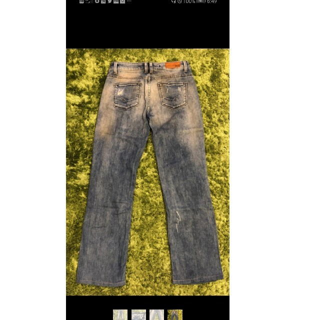 ZARA(ザラ)のZARAデニム レディースのパンツ(デニム/ジーンズ)の商品写真