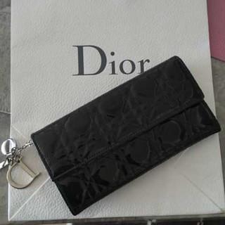 クリスチャンディオール(Christian Dior)のChristian Dior 長財布 カナージュ(財布)