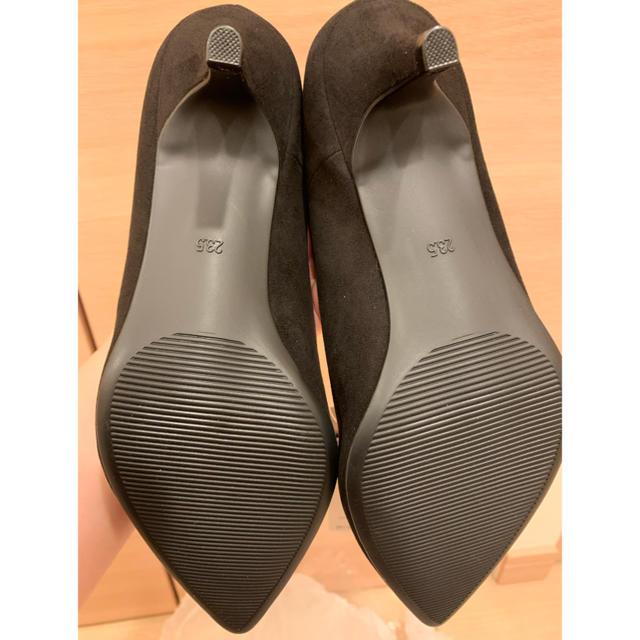 GU(ジーユー)のGU マシュマロポインテッドパンプス ブラック レディースの靴/シューズ(ハイヒール/パンプス)の商品写真
