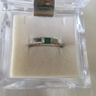 Pt100(おもちゃです!) 銀色 指輪 13-14号(リング(指輪))
