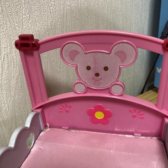 PILOT(パイロット)のメルちゃん ベッド キッズ/ベビー/マタニティのおもちゃ(ぬいぐるみ/人形)の商品写真
