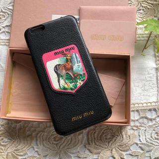 miumiu - miumiu  ミュウミュウiPhone6plus 携帯ケース
