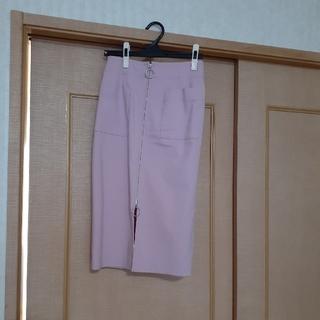 Noble - NOBLE ジップアップ スカート