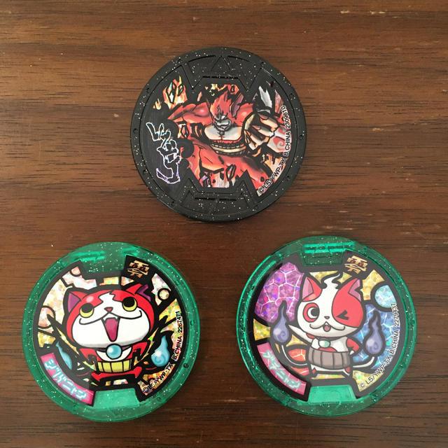 ニンテンドー3DS(ニンテンドー3DS)の妖怪ウォッチ2 本家・真打 3 SUSHI  バスターズ赤猫団 セット エンタメ/ホビーのゲームソフト/ゲーム機本体(携帯用ゲームソフト)の商品写真