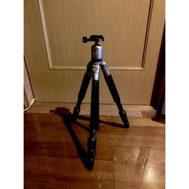 一眼レフカメラ、ビデオカメラ用三脚 king FotoproC-4i スマホ/家電/カメラのカメラ(その他)の商品写真