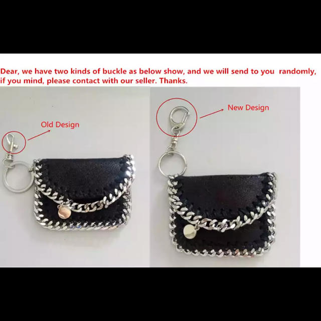 ZARA(ザラ)のグレー即納新品チェーンキーケース レディースのファッション小物(キーケース)の商品写真