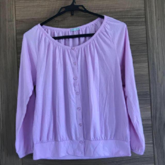 GU(ジーユー)のトップス  レディースのトップス(Tシャツ(長袖/七分))の商品写真
