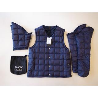 Engineered Garments - 希少サイズ XL タイオンエクストラ TAION EXTRA Vネック ネイビー